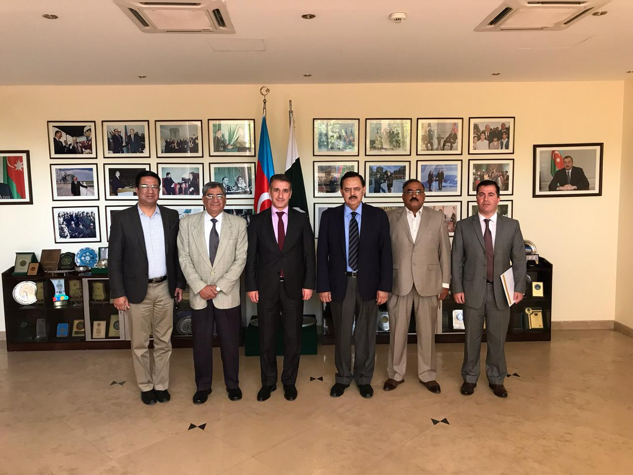 Visit of CGSS delegation to Embassy of the Republic of Azerbaijan - PHOTO